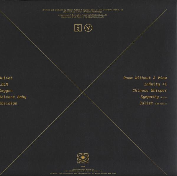 Steven Rutter & Bryonii - StarCrossed (Gold LP) (Back)