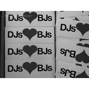 Sticker - DJs LOVE BJs