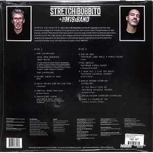 Stretch and Bobbito & The M19s Band - No Requests (LP) (Back)