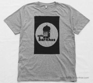 Studio Barnhaus T-shirt - Grey With Black Print On Front -Size XXL