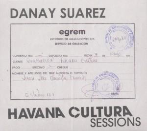 Suarez,Danay - The Havana Cultura Sessions