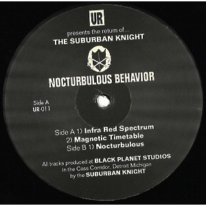 Suburban Knight - Nocturbulous Behavior (2019 Repress)