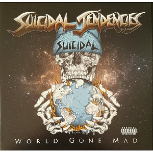Suicidal Tendencies - World Gone Mad (Ltd. Blue Vinyl 2LP, Gatefold)