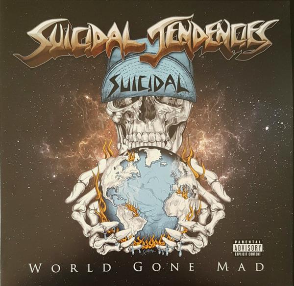 Suicidal Tendencies - World Gone Mad (Ltd. Blue Vinyl 2LP, Gatefold)