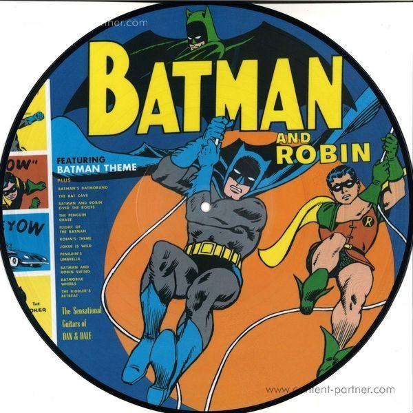 Sun Ra & The Blues Project - Batman & Robin (Picture Disc) (Back)
