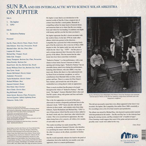 Sun Ra - On Jupiter (2017 Repress) (Back)