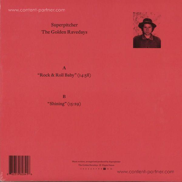 Superpitcher - The Golden Ravedays 10 (LP + Download) (Back)