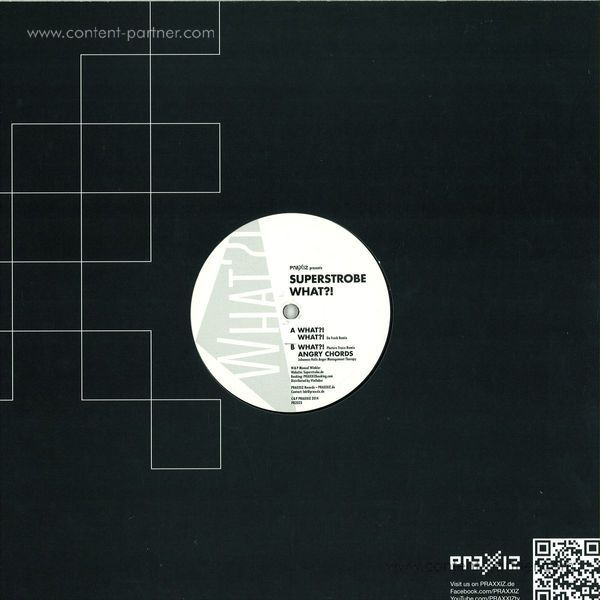 Superstrobe - What! (Back)