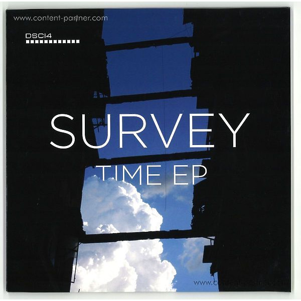 Survey - Time EP (Clear 2x10 Inch) (Back)