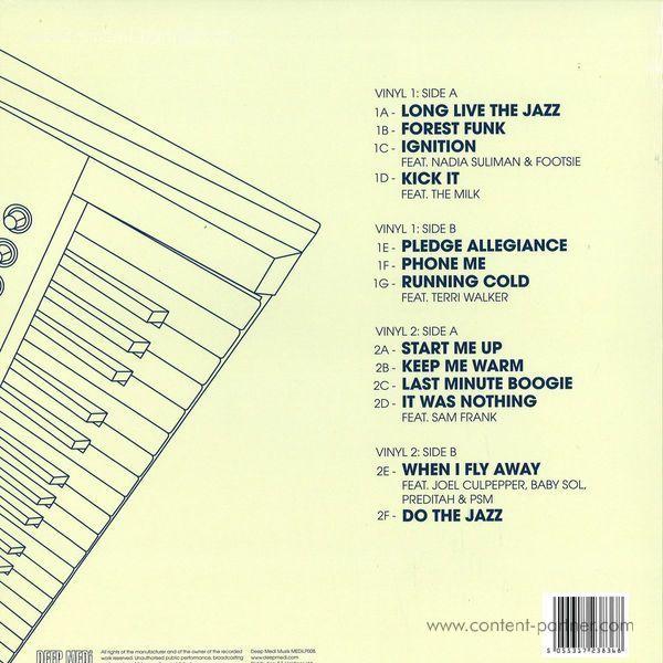 Swindle - Long Live The Jazz 2x12 (Back)