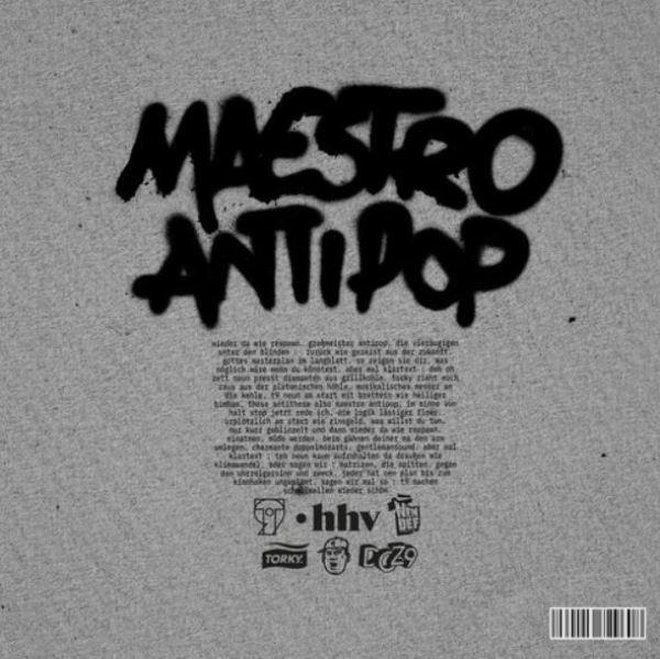 T9 (Torky Tork & Doz9 - Maestro / Antipop (2LP) (Back)