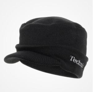 TECHNICS HEADWEAR - TECHNICS RADAR CAP (BLACK)