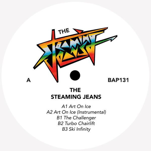 THE STEAMING JEANS - ART ON ICE EP