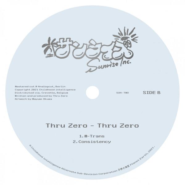 THRU ZERO - THRU ZERO (Back)