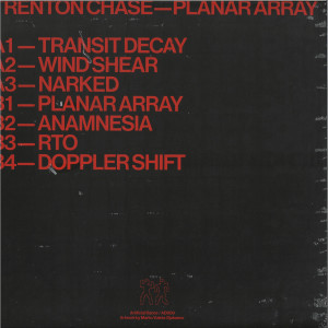 TRENTON CHASE - PLANAR ARRAY (Back)