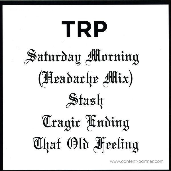 TRP - Saturday Morning EP (Back)