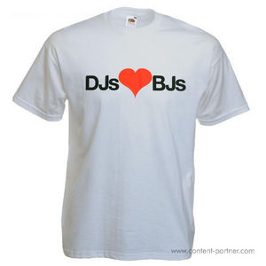 T-Shirt + Sticker - DJs BJs (L)