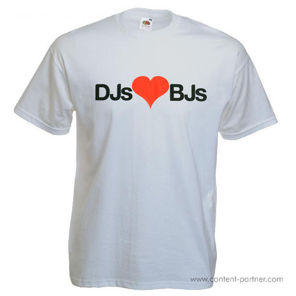 T-Shirt + Sticker - DJs BJs (M)