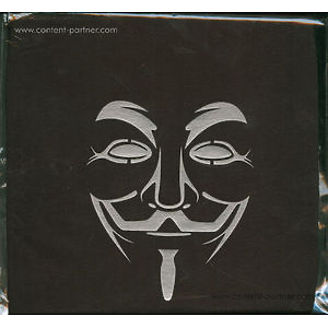 T-Shirt  V for Vendetta - Face size M