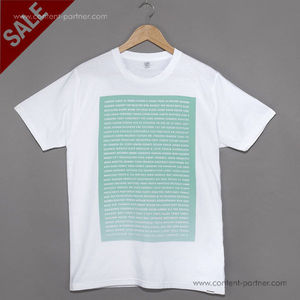 T-Shirt Millionhands - A-Z (green on white) size M