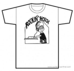 T-Shirt - Rockin' House Shirt (White) - Gr- XXL