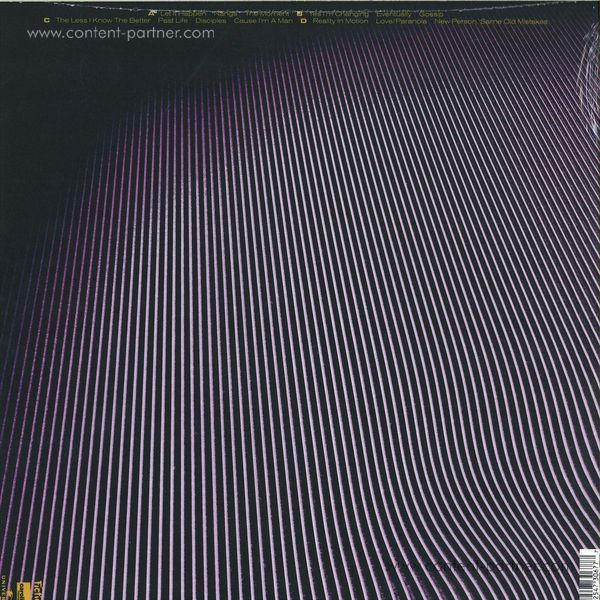 Tame Impala - Currents (2LP) (Back)