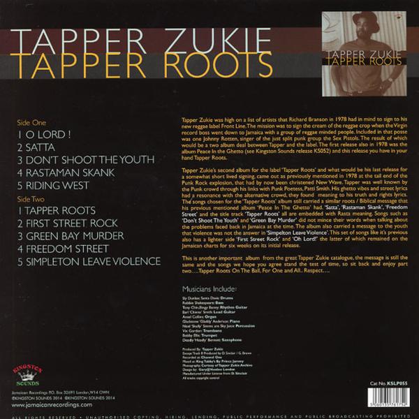 Tapper Zukie - Tapper Roots (Back)