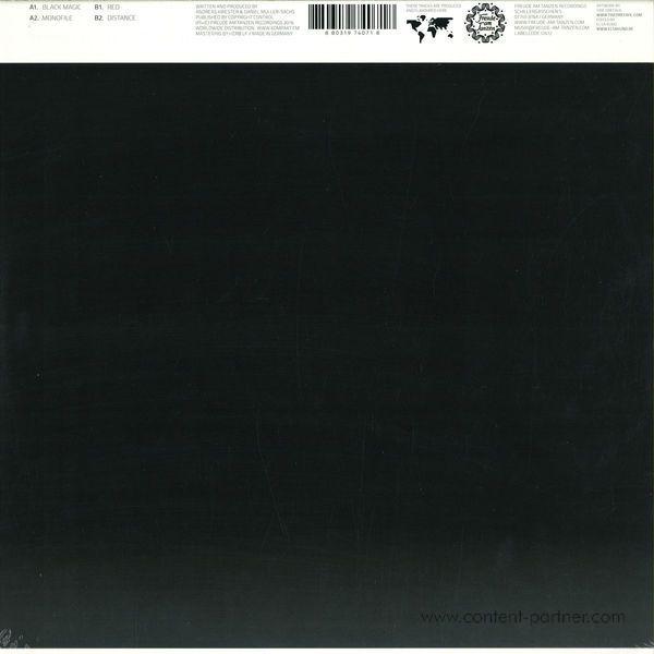 Taron-Trekka - Black Magic EP (Back)