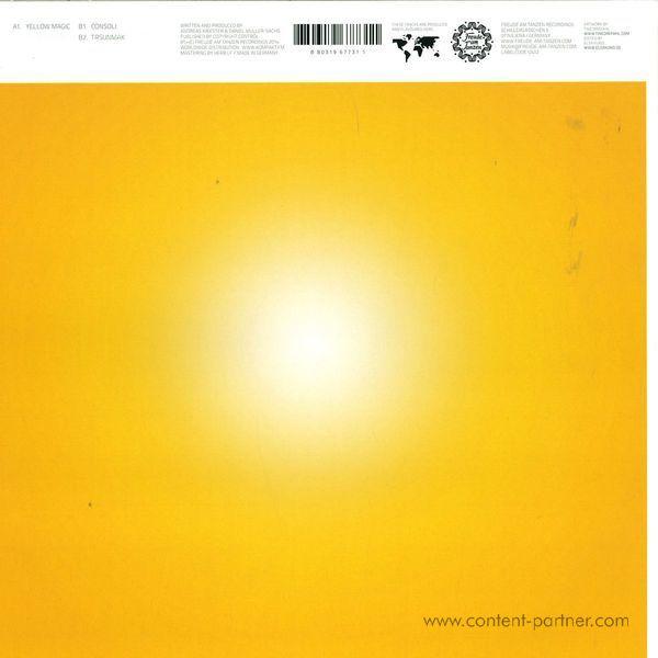 Taron-Trekka - Yellow Magic Ep (Back)