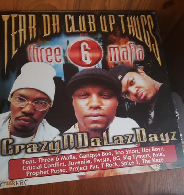 Tear Da Club Up Thugs of Three 6 Mafia - CrazyNDaLazDayz (2LP)