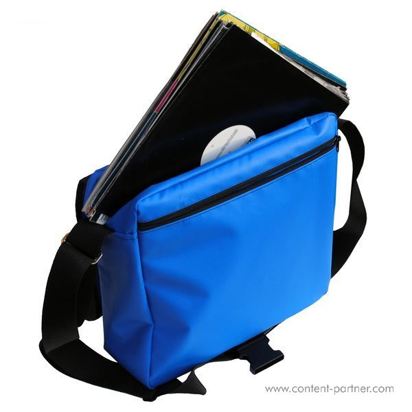 Technics Tec-Deck Heavy Duty Despatch - Blue Technics Bag (Back)
