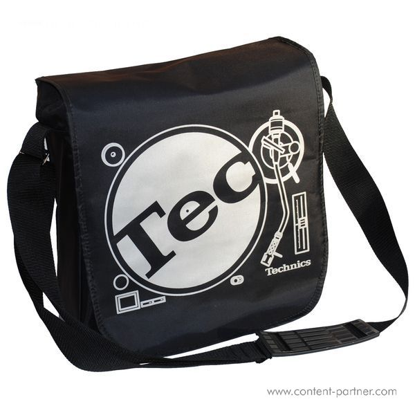 Technics Tec-Deck Messenger Bag - Black / Silver Bag