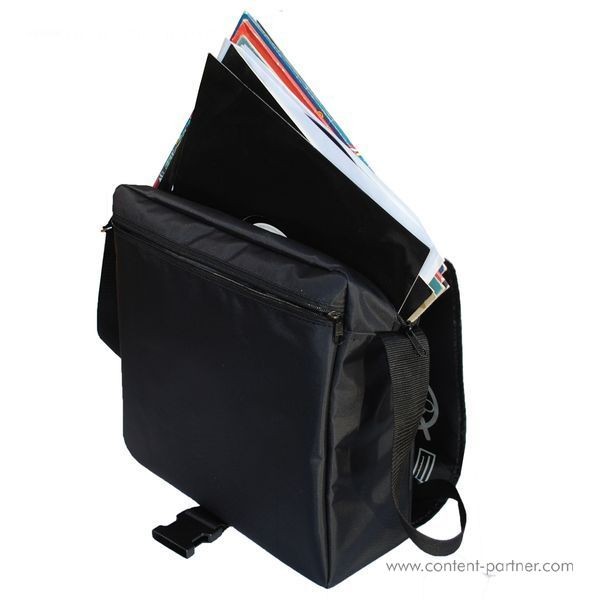 Technics Tec-Deck Messenger Bag - Black / Silver Bag (Back)