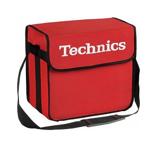 Technics - dj-bag red