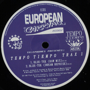 Telephones presents - Tempo Tiempo Trax 1