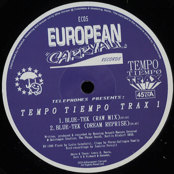 Telephones presents - Tempo Tiempo Trax 1