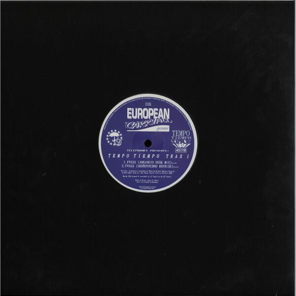 Telephones presents - Tempo Tiempo Trax 1 (Back)