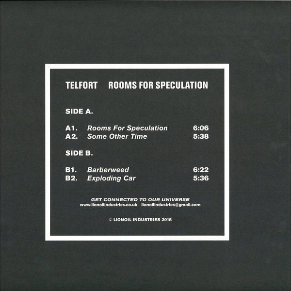 Telfort - Rooms For Speculation (Back)