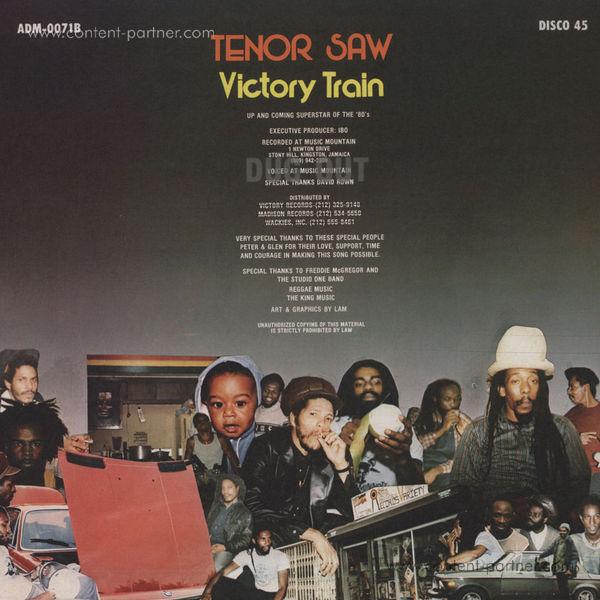 Tenor Saw - Victory Train (Back)