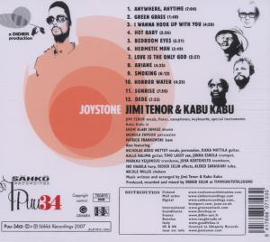 Tenor,Jimi - Joystone (feat. Kabu Kabu) (Back)