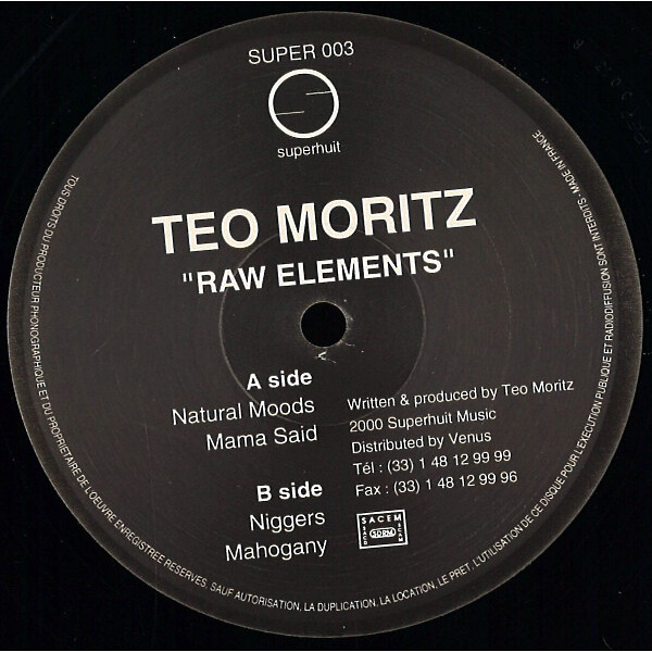 Teo Moritz - Raw Elements