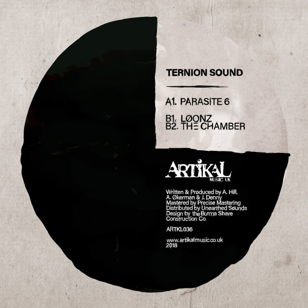 Ternion Sound - Parasite 6 EP (Back)