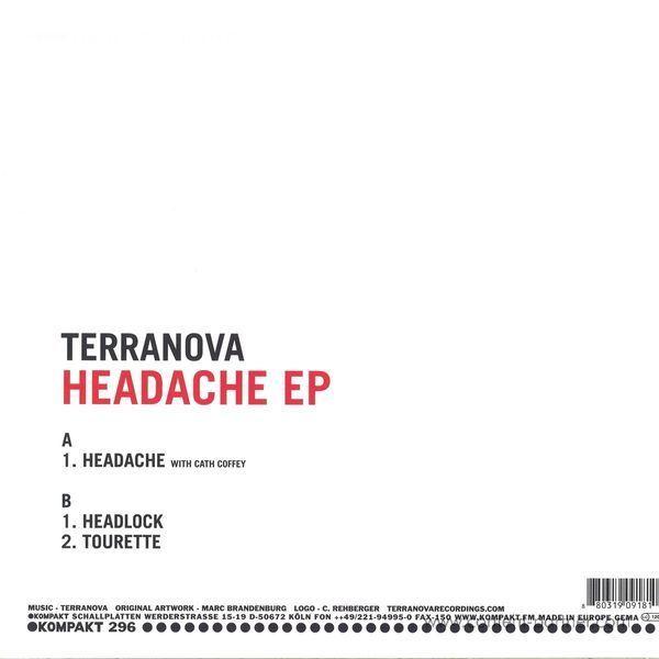 Terranova - Headache EP (Back in!) (Back)