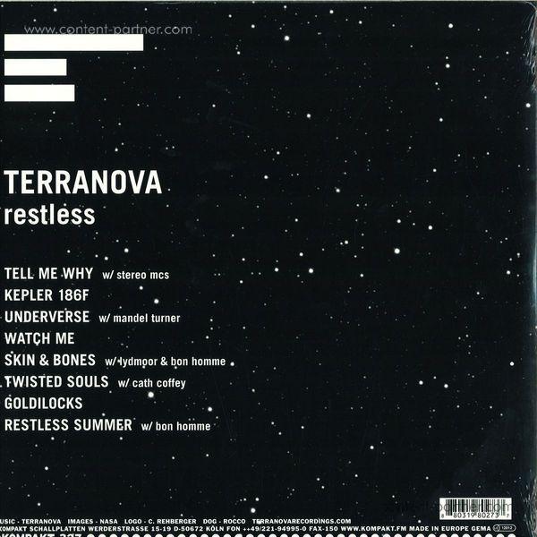 Terranova - Restless LP (2x12+CD) (Back)