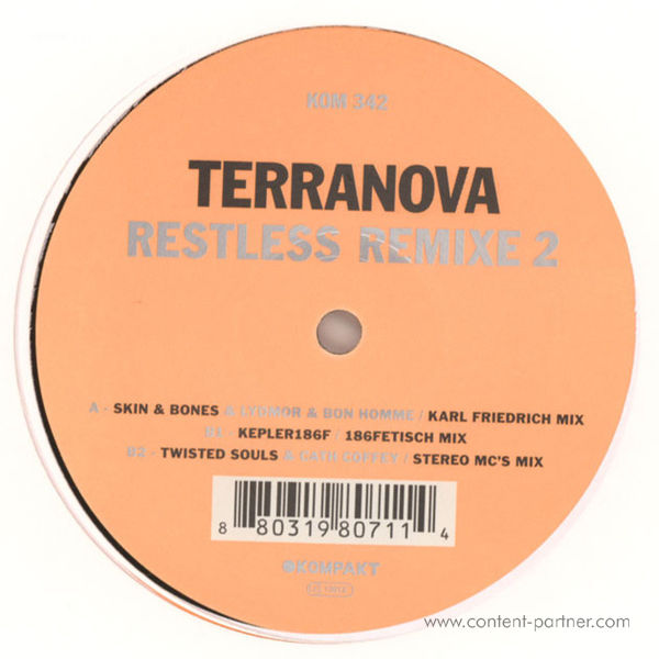 Terranova - Restless Remixe 2 (Back)