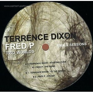 """Terrence DIXON / FRED P - Two Worlds (12"""")"""