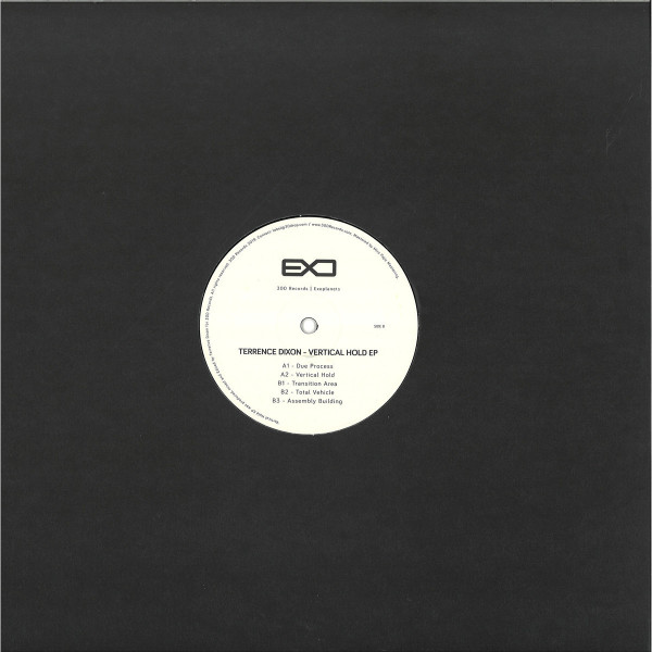Terrence Dixon - Vertical Hold EP (Back)