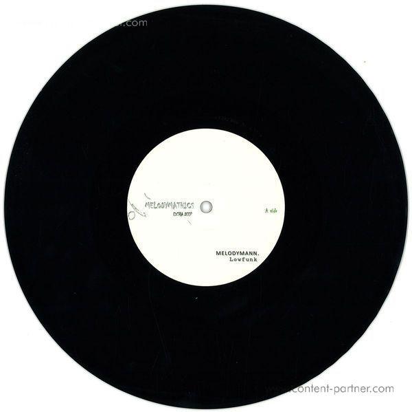 Terrence Parker / No Shit Like Deep / Me - Melodymathics 005 (Back)