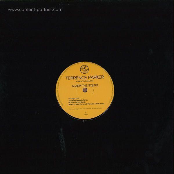 Terrence Parker - Alarm The Sound (Back)
