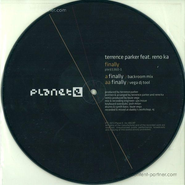 Terrence Parker - Finally (Carl Craig/Louie Vega Remixes) (Back)